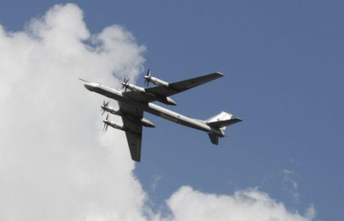российский бомбардировщик